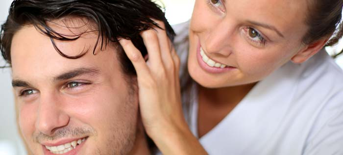 massaggio cuoio capelluto
